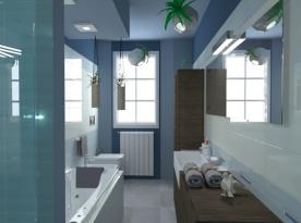Modern bathroom by Giampaolo Mosciatti