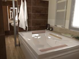 Modern bathroom by Maurizio Guasco