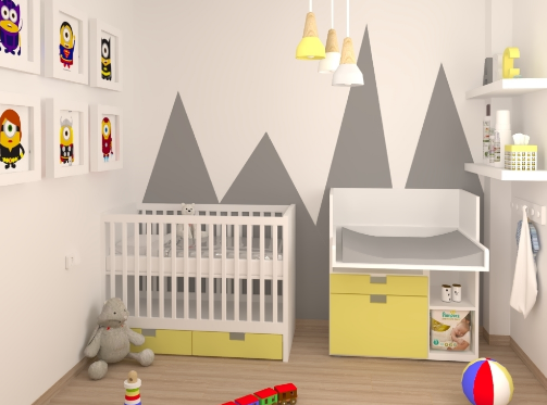 Baby bedroom by Aurum Construcciones