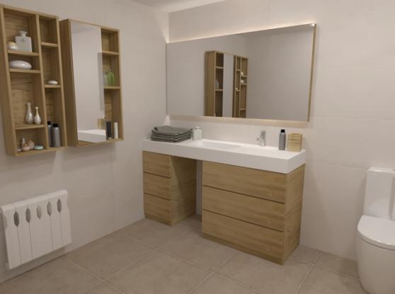 Classic bathroom by Marina Chacon Esteve