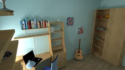 bedroom by paul dudnicenco