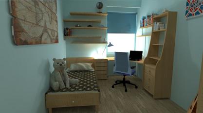 bedroom by paul dudnicenco2